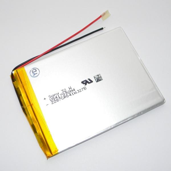 Аккумулятор для планшета - HST-417092H4 - 2000mAh 3.7v - размер 92мм на 70мм