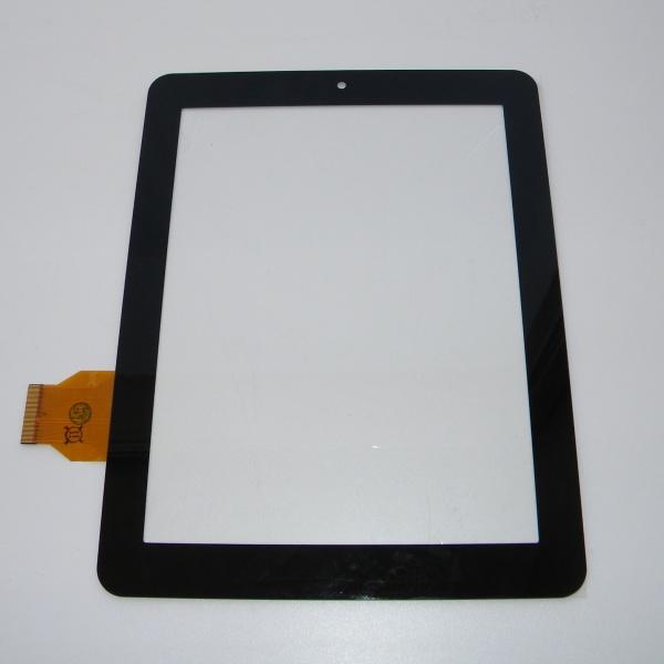 Тачскрин - сенсорное стекло - емкостный - 7.85 / 7.9 / 8 дюймов - размер 196мм на 150мм - черный