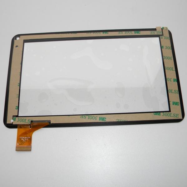 Тачскрин - сенсорное стекло CZY6411A01-FPC емкостный - 7 дюймов - размер 186мм на 111мм