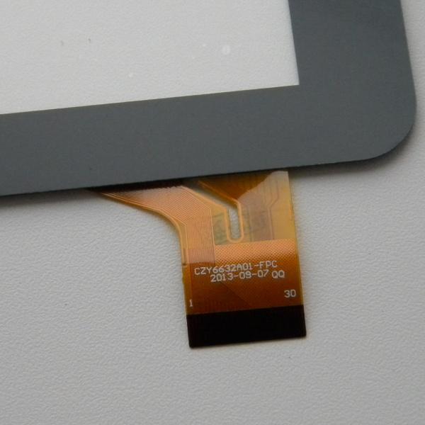 Тачскрин (сенсорная панель - стекло) для Fly Flylife Web 7 - touch screen - черный