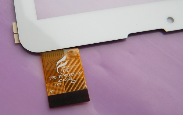 Тачскрин (сенсорная панель - стекло) для Mystery MID-703G - touch screen - белый