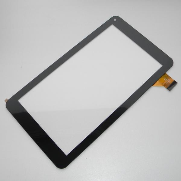 Тачскрин - сенсорное стекло FPC-TP070215(708B)-01 емкостный - 7 дюймов - размер 186мм на 104мм - черный