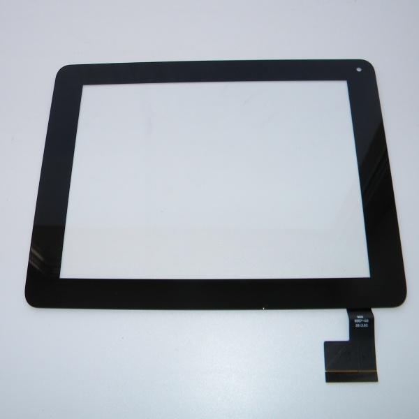 Тачскрин - сенсорное стекло QSD 8007-03 емкостный - 7.85 / 7.9 / 8 дюймов - размер 199мм на 154мм - черный