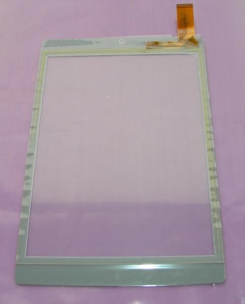 Тачскрин - сенсорное стекло TPC-51117 емкостный - 7.85 / 7.9 дюймов - размер 197мм на 133мм