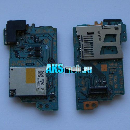 Плата WiFi MS-329 (wi-fi,карт-ридер) PSP 1000 Fat Оригинал Used