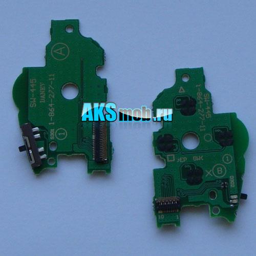Плата кнопок управления (правая) с кнопкой включения для PSP 1000-1008 Fat