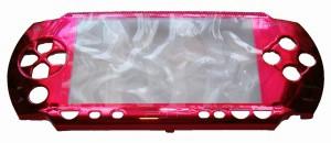 Панель передняя красная перламутр PSP 1000 Fat