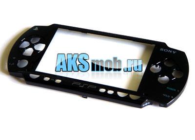 Панель передняя для PSP 1000 Fat (черная)