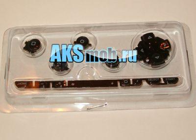 Все кнопки  PSP 1000 Fat (черные)