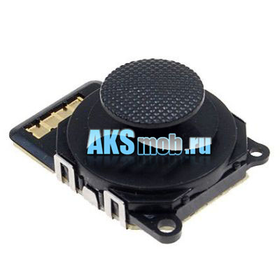 Аналоговый джойстик для PSP 2000 Slim (серии 2000-2009) черный