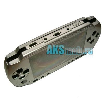 Корпус PSP 1000 Fat (серебро) передняя и задняя части + все кнопки