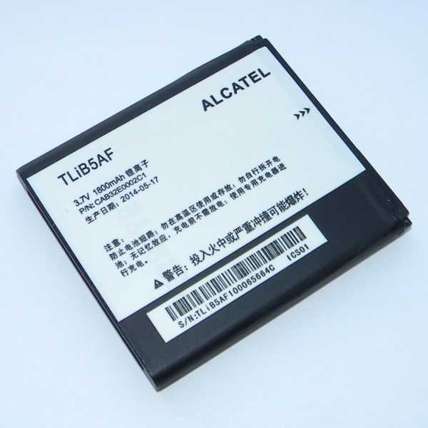 Аккумулятор (батарея) TLiB5AF для Alcatel One Touch 997, 997D, 5035 (xPOP), 5036D POP C5, Sapphire 2, МТС 975