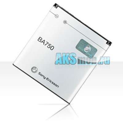 Оригинальная аккумуляторная батарея Sony Ericsson LT18i Xperia Arc S (BA750, 1500 mAh)