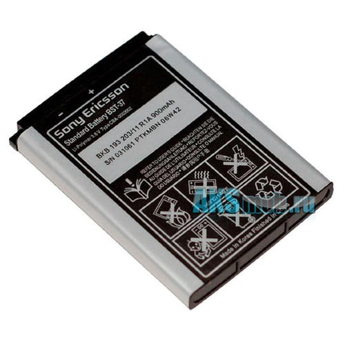 Аккумулятор Sony Ericsson Battery BST-37 Оригинал (батарея, акб)