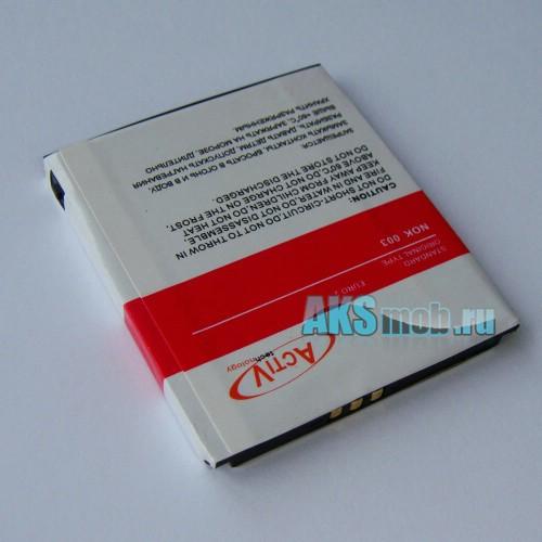 Аккумуляторная батарейка для китайского телефона TV F003
