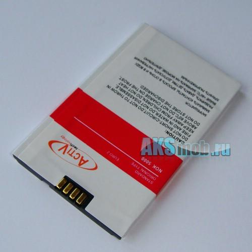 Аккумуляторная батарейка для китайского телефона TV C5000 (усиленная)