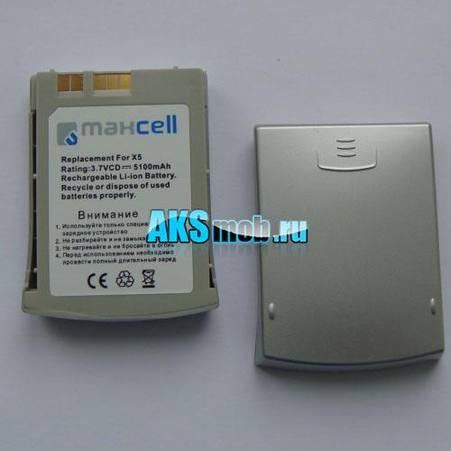 Аккумуляторная батарея (акб) для Dell X5 (усиленная 5100ma)
