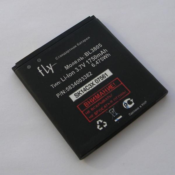 Аккумуляторная батарея (АКБ) для Fly IQ4402 Era Style 1 / IQ4404 Spark - Battery BL3805 - Original