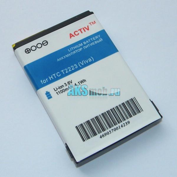 Аккумулятор (акб) для HTC T2223 Touch Viva