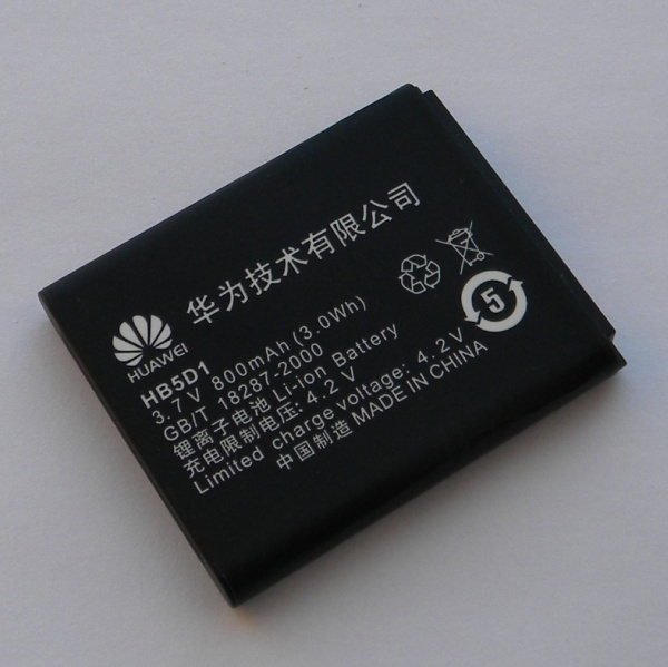 Оригинальная аккумуляторная батарея для Huawei C5110, C5600, C5700, C5710, C5720 - HB5D1 - Оригинал