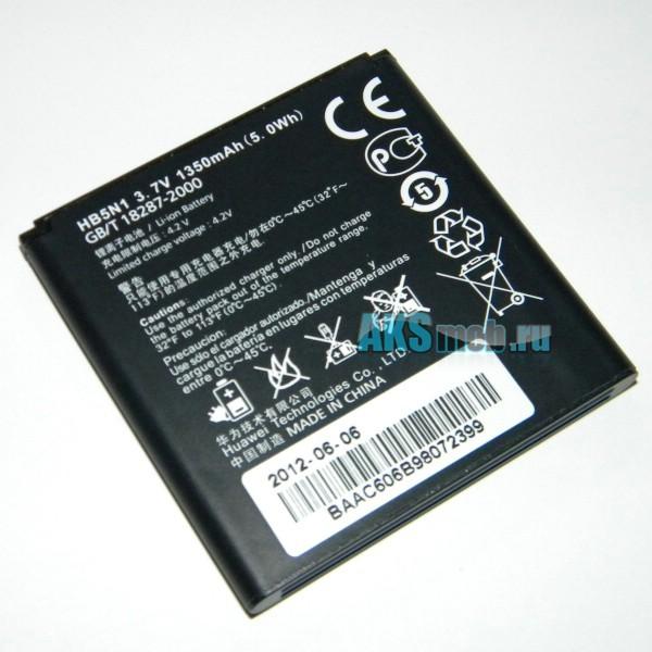 Оригинальная аккумуляторная батарея для Huawei U8815 Ascend G300 - HB5N1 - Original Battery