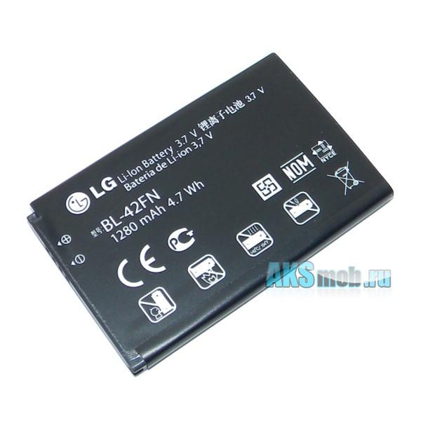 Аккумулятор (батарея) для телефона LG C550 Optimus Chat - Оригинал - Battery BL-42FN