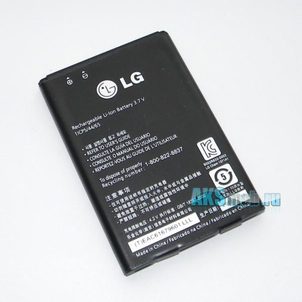 Аккумулятор (батарея) для телефона LG P698 Optimus Link Dual Sim - Оригинал - Battery BL-44JN