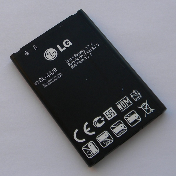 Аккумулятор (батарея) для телефона LG P940 Prada 3.0 - Оригинал - Battery BL-44JR