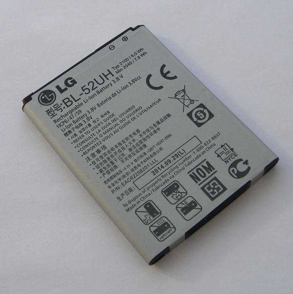 Аккумулятор (батарея) для телефона LG D320 L70 - Оригинал - Battery BL-52UH