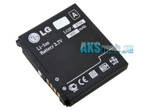 Аккумулятор (батарея) для телефона LG KX500 - Оригинал (LGIP-570A)