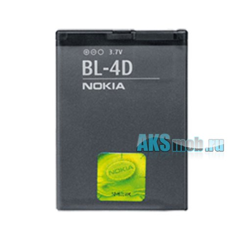 Оригинальная аккумуляторная батарейка Nokia E5 (BL-4D, Li-Ion 1200 mAh, РСТ)