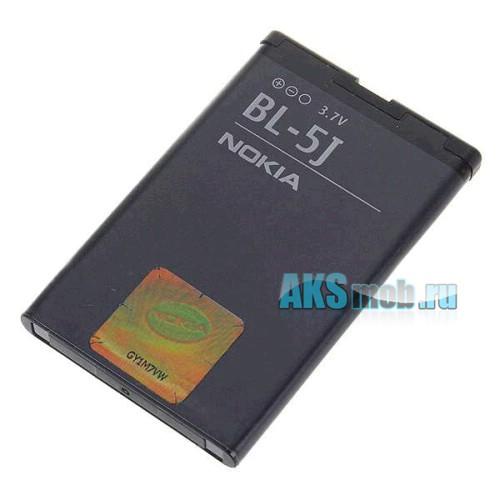 Оригинальная аккумуляторная батарейка Nokia 5232 (BL-5J, Li-Ion 1320 mAh, РСТ)