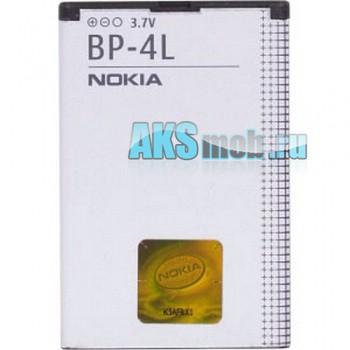 Оригинальная аккумуляторная батарейка Nokia E61 (BP-4L, Li-Ion 1500 mAh, РСТ)