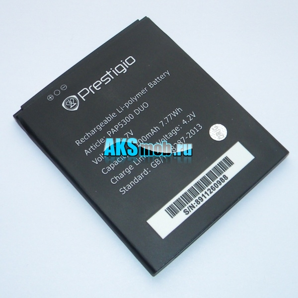 Аккумуляторная батарея (АКБ) для Prestigio MultiPhone 5300 DUO - Original