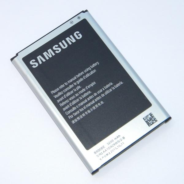 Оригинальный аккумулятор (батарея) для Samsung Galaxy Note 3 SM-N900/N9000/N9005 - B800BE