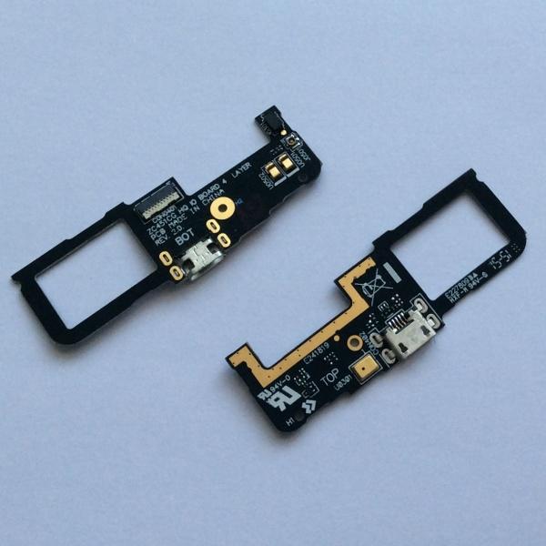 Плата с разъемом зарядки и синхронизации и микрофоном для Asus ZenFone C (ZC451CG)