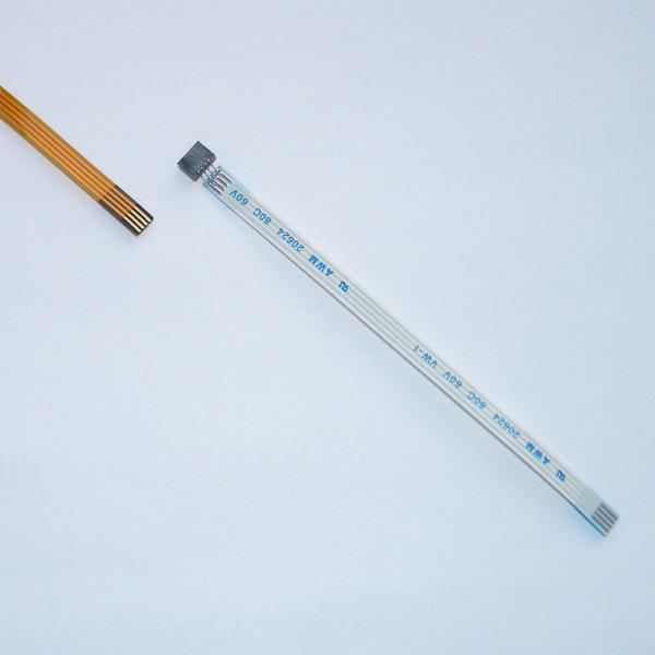 Шлейф удлинитель-переходник для тачскринов автомагнитол 2 в 1 - 105мм
