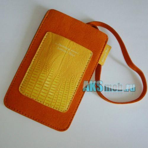 Чехол замшевый m.Humming sleeve Antenna Shop для Apple iPhone 2g/3g/3gs/4/4s оранжевый