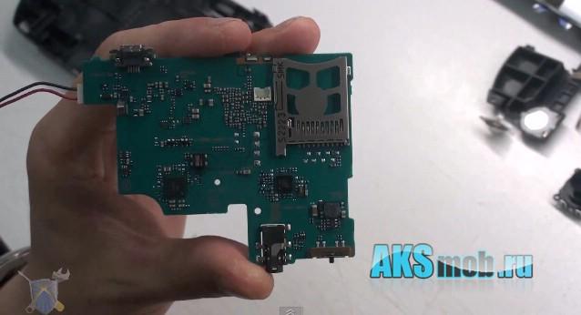 usb разъем, слот карты памяти psp e1000