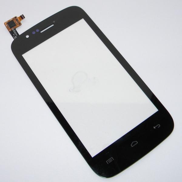 Тачскрин (Сенсорное стекло) для телефона Explay A400 - черный