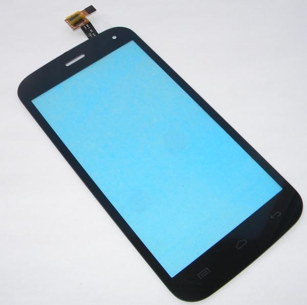 Тачскрин (Сенсорное стекло) для телефона Explay Atlant A500 - черный