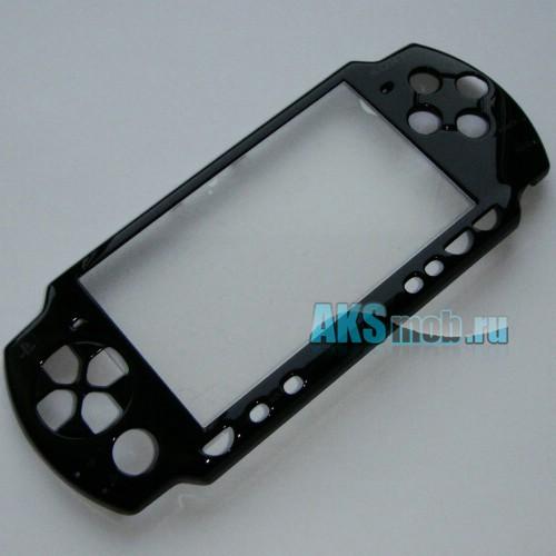 Панель передняя для PSP 2000 Slim (черная)