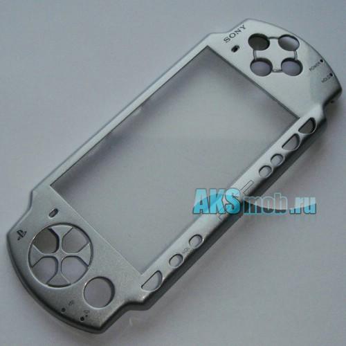 Панель передняя для PSP 2000 Slim (Серебро)