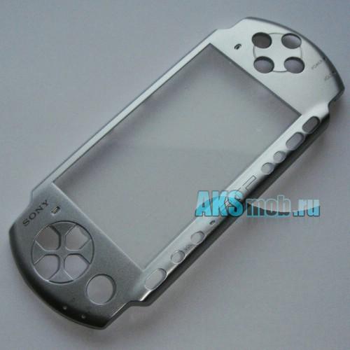 Панель передняя для PSP 3000 (серебро)