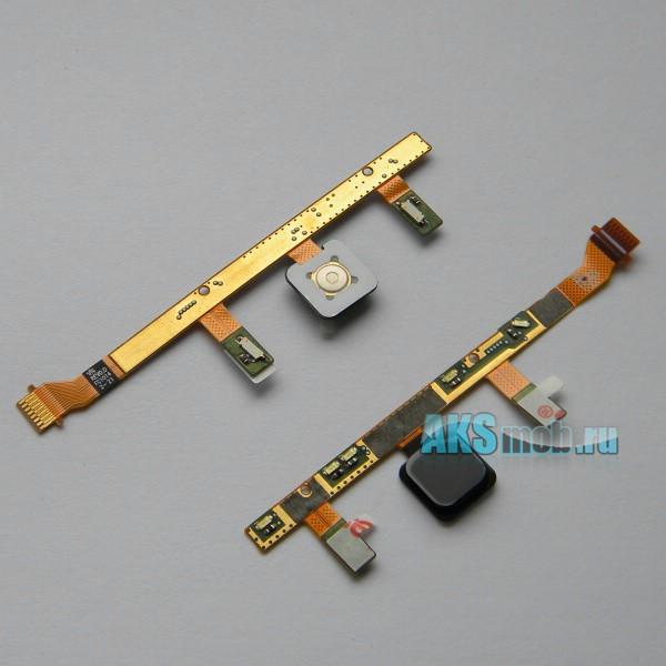 Шлейф подсветки и основной кнопки с кнопкой HTC A7272 Desire Z Оригинал