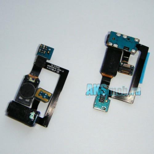 Шлейф для Samsung GT-I9000 Galaxy - с компонентами, динамиком и аудио разъемом