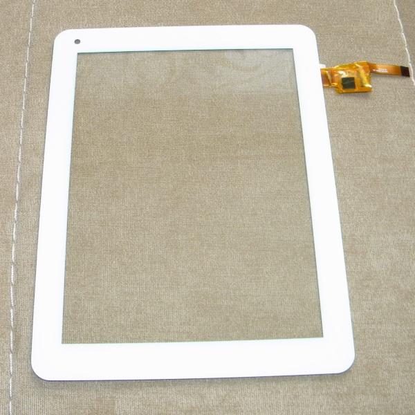 Тачскрин (сенсорная панель, стекло) для Fly Flylife 8 - белый - touch screen