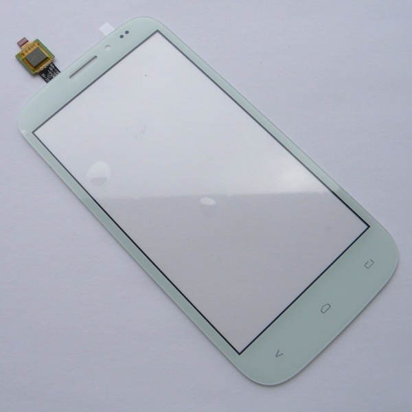 Тачскрин (Сенсорное стекло) для Fly IQ4404 Spark - touch screen - белый