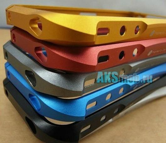Металлический бампер для iPhone 4 Deff Cleave Bumper серый