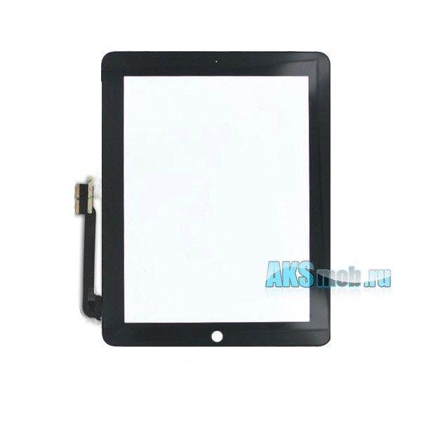 Тачскрин (сенсорное стекло) для Apple iPad 4 (A1458, A1459, A1460) - черный